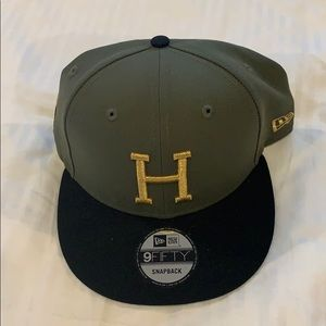 CFL Hamilton Tiger Cats flat brim snap back